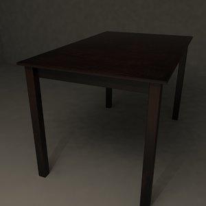 max table wood