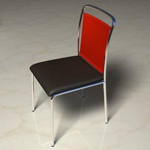 lwo leather chrome chair