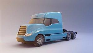 kamaz truck 3D model
