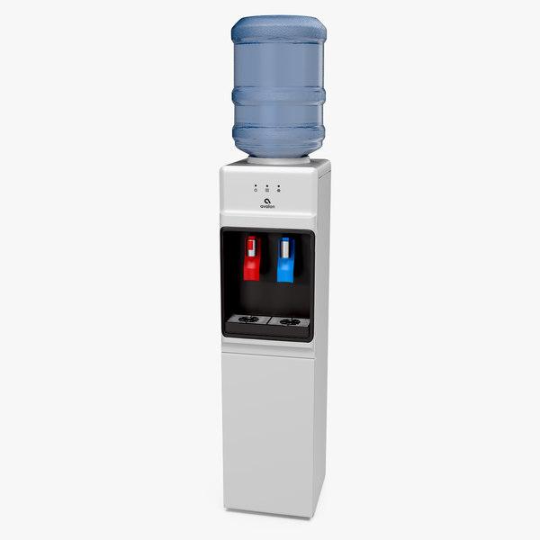 3D model avalon loading water cooler