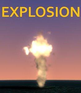 maya explosion particle