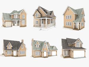 3D hi-poly cottages vol 11
