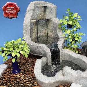 home fountain v1 3d model