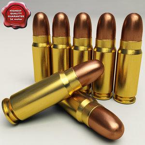 3d cartridge 7 62x25