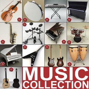 maya music instruments v4