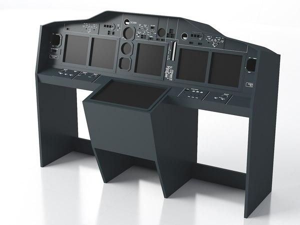 3D home cockpit