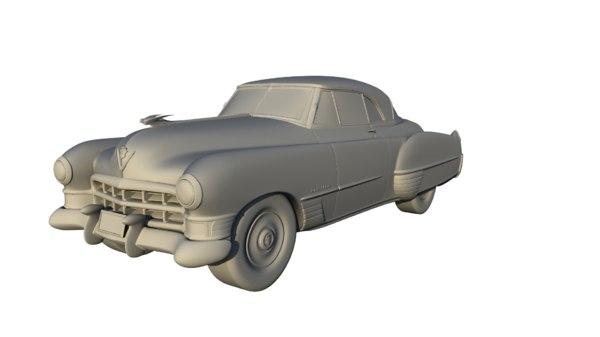 1949 coupe deville 3D model