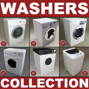 washers v2 3d model