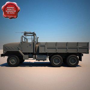 m923 a1 cargo truck 3d 3ds