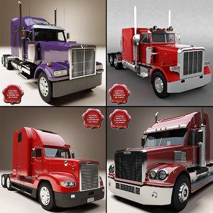 3d max trucks v7