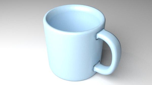 3D model mug ceramic