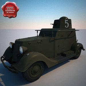lightwave armored car ba-20m v1