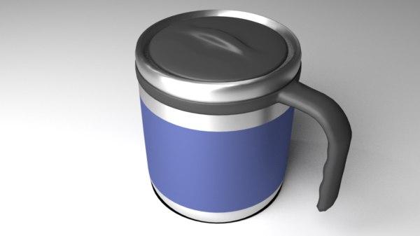 mug travel 3D