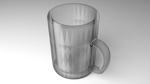 mug glass 3D model
