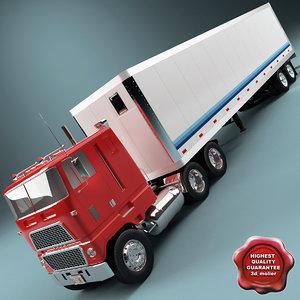 wt 9000 trailer 3d model