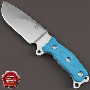 knife busse natural 3d 3ds