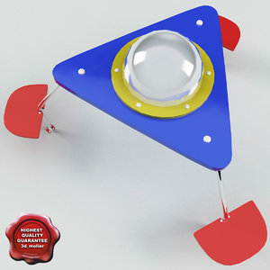 3d childrens table ufo