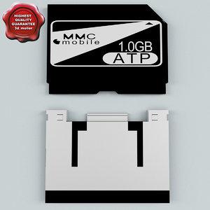 3d memory card mmc mobile