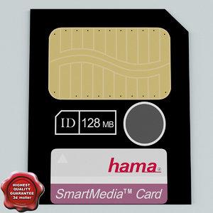 3ds max memory card smart media