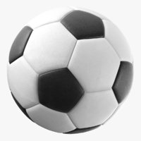 Generic Black and White Soccer Ball