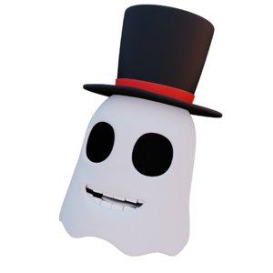 3D model ghost boi