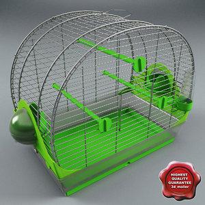 bird cage v3 3d max