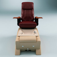 c4d pedicure chair bellini