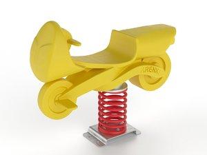 3D model krenke kid