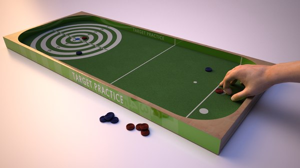 board tokens hand 3D
