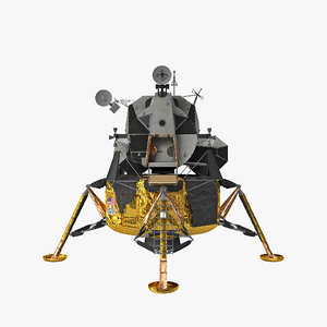 lunar module apollo 11 3D model