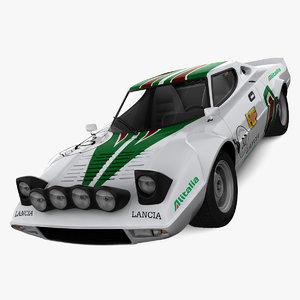 lancia stratos rally car max