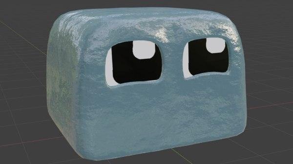 3D model ice boi