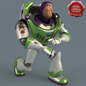 3ds max buzz lightyear pose 4