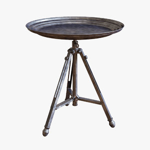 tripod table 3D