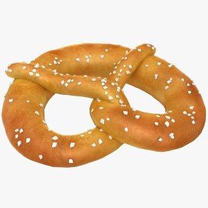 3D realistic pretzel