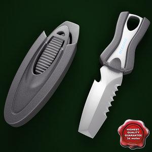 maya oceanic spinner knife v2