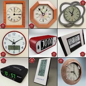 3d clocks v3 model