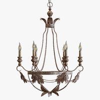 3D madeline chandelier
