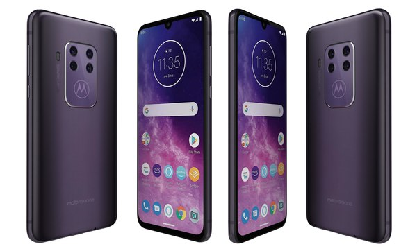 3D motorola zoom cosmic purple