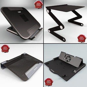 3d laptop stands