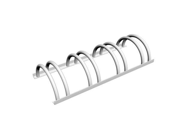 3D bike rack