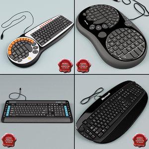 keyboards v5 3d 3ds