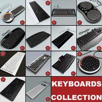 keyboards v7 3d obj