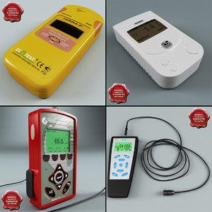 3dsmax radiation detector dosimeters