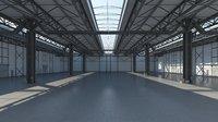 3D modeled 3 warehouse