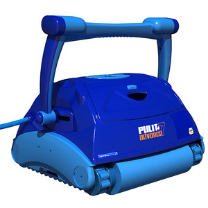 3D pool cleaning robot model