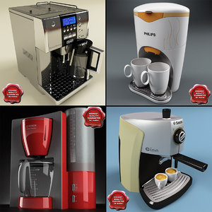 coffee makers 3d 3ds