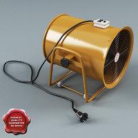 portable ventilator v2 3d 3ds