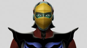 duke fleed grendizer 3D model