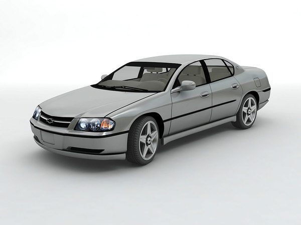 3D 2003 chevy impala sedan